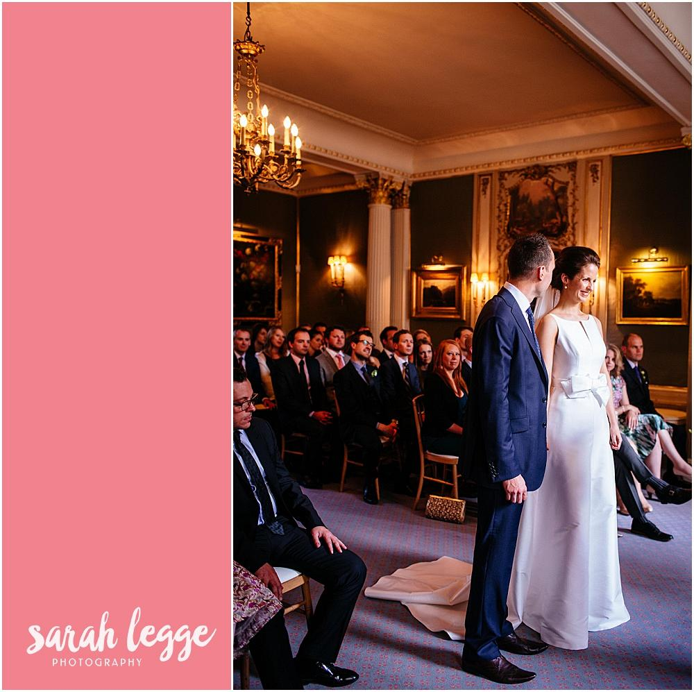 Grand London wedding ceremony