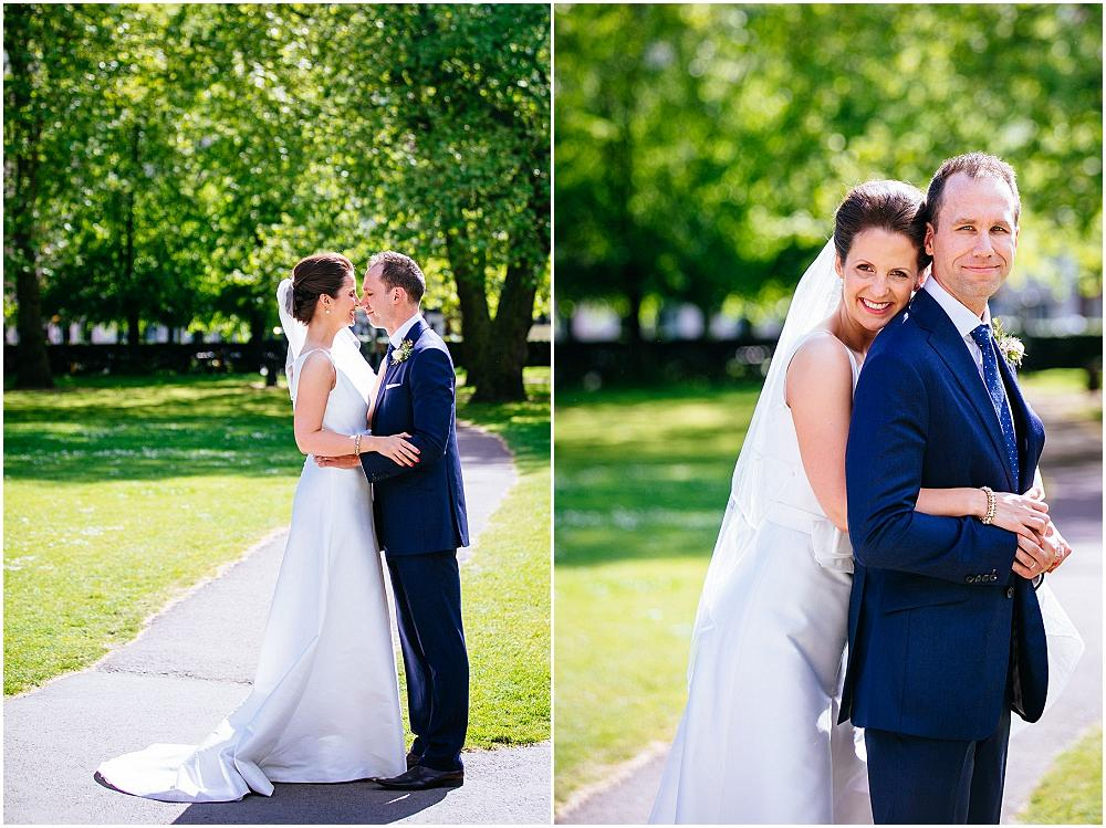 Grosvenor square wedding photography