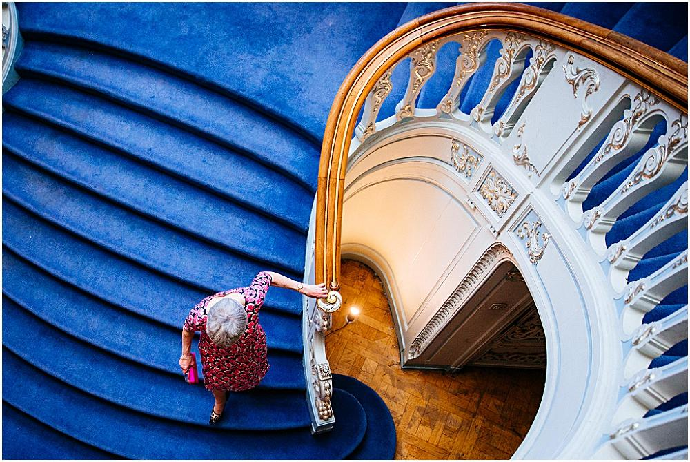 Savile club staircase again