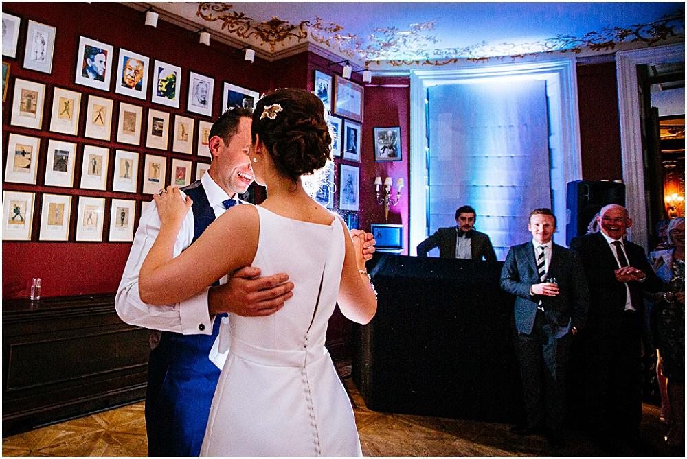 First dance at the Savile club