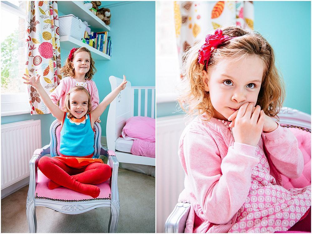 Wimbledon Family Photographer – Stella & Sophie