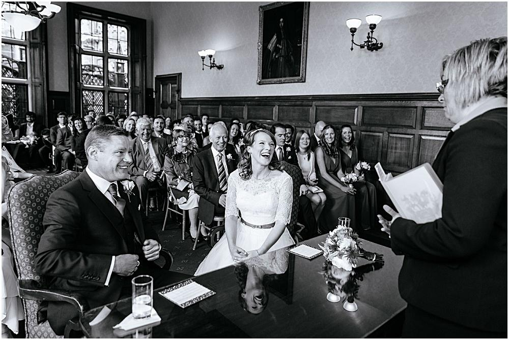 Hampshire civil ceremony at The Elvetham