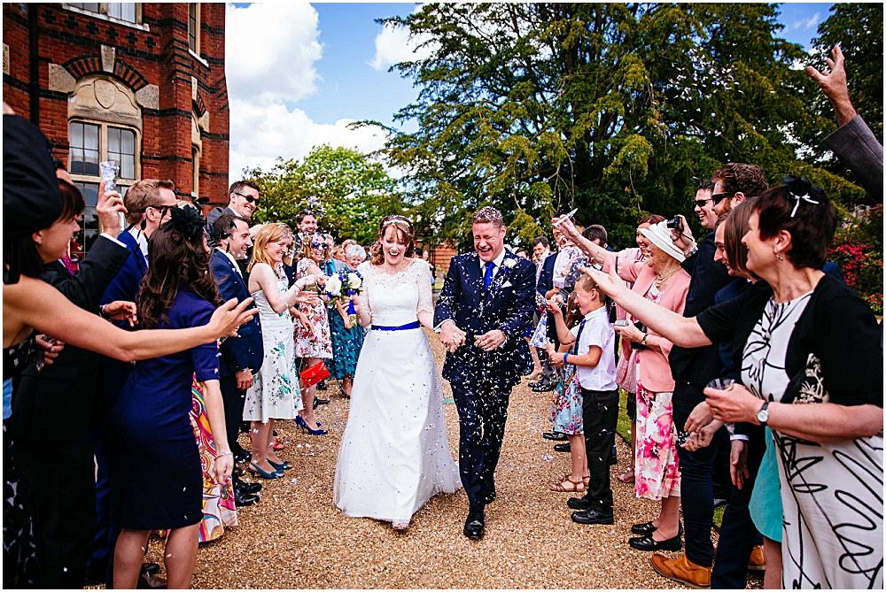 The Elvetham confetti shot