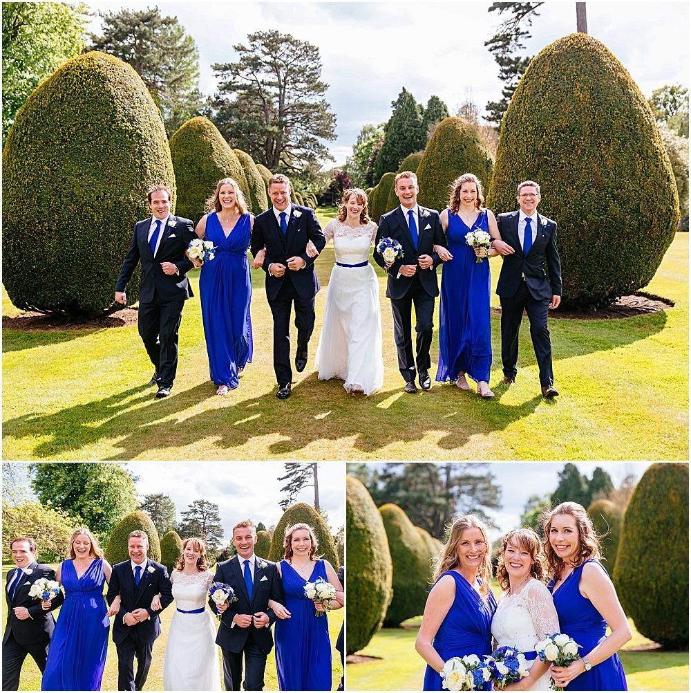 Fun wedding part photographs