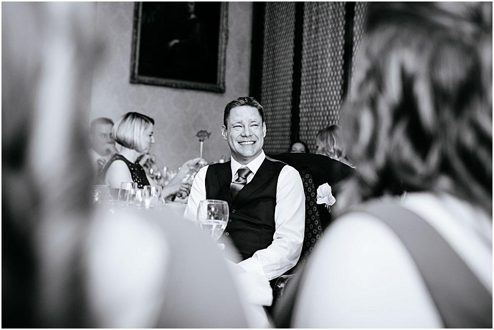 The wedding groom