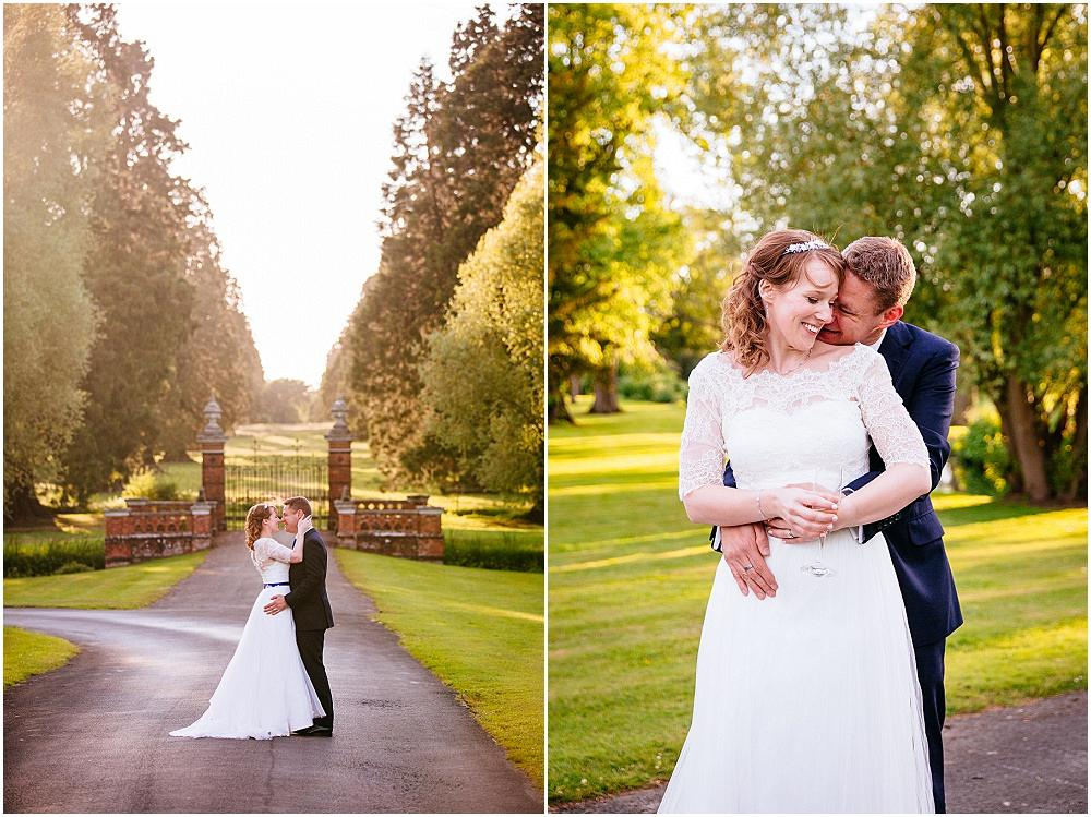 Couple portraits in soft light
