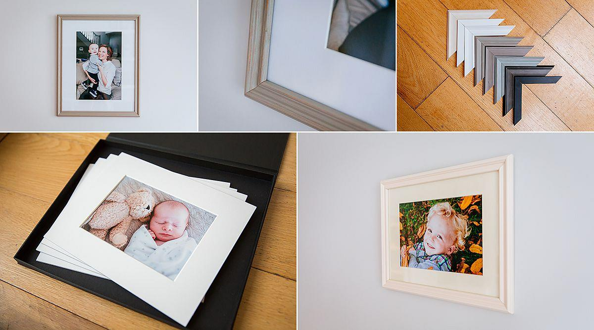 Wandsworth family framed photographs