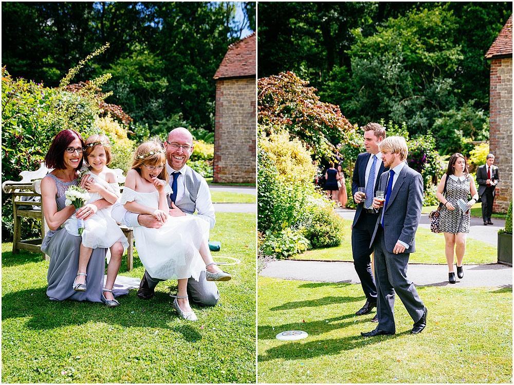 Sunny wedding photography