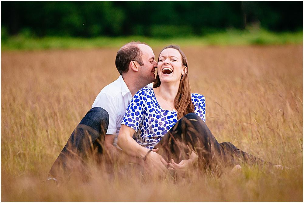 Richmond Park Engagement Photography – Helen & Tim