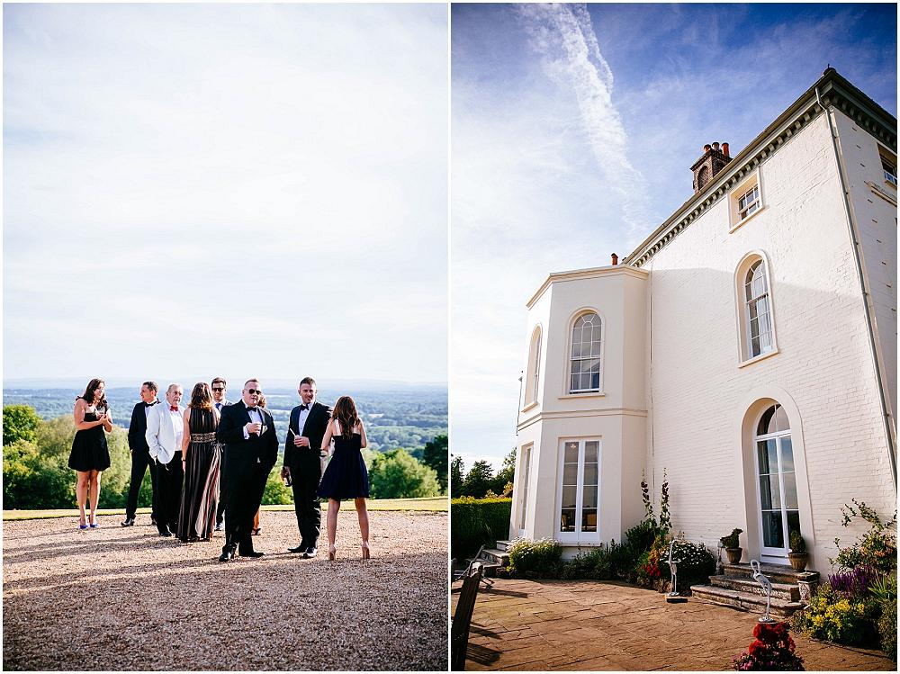 Stunning Surrey hills wedding