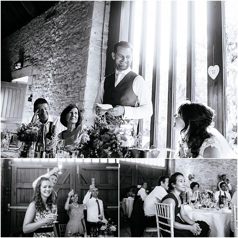 Touching wedding speech