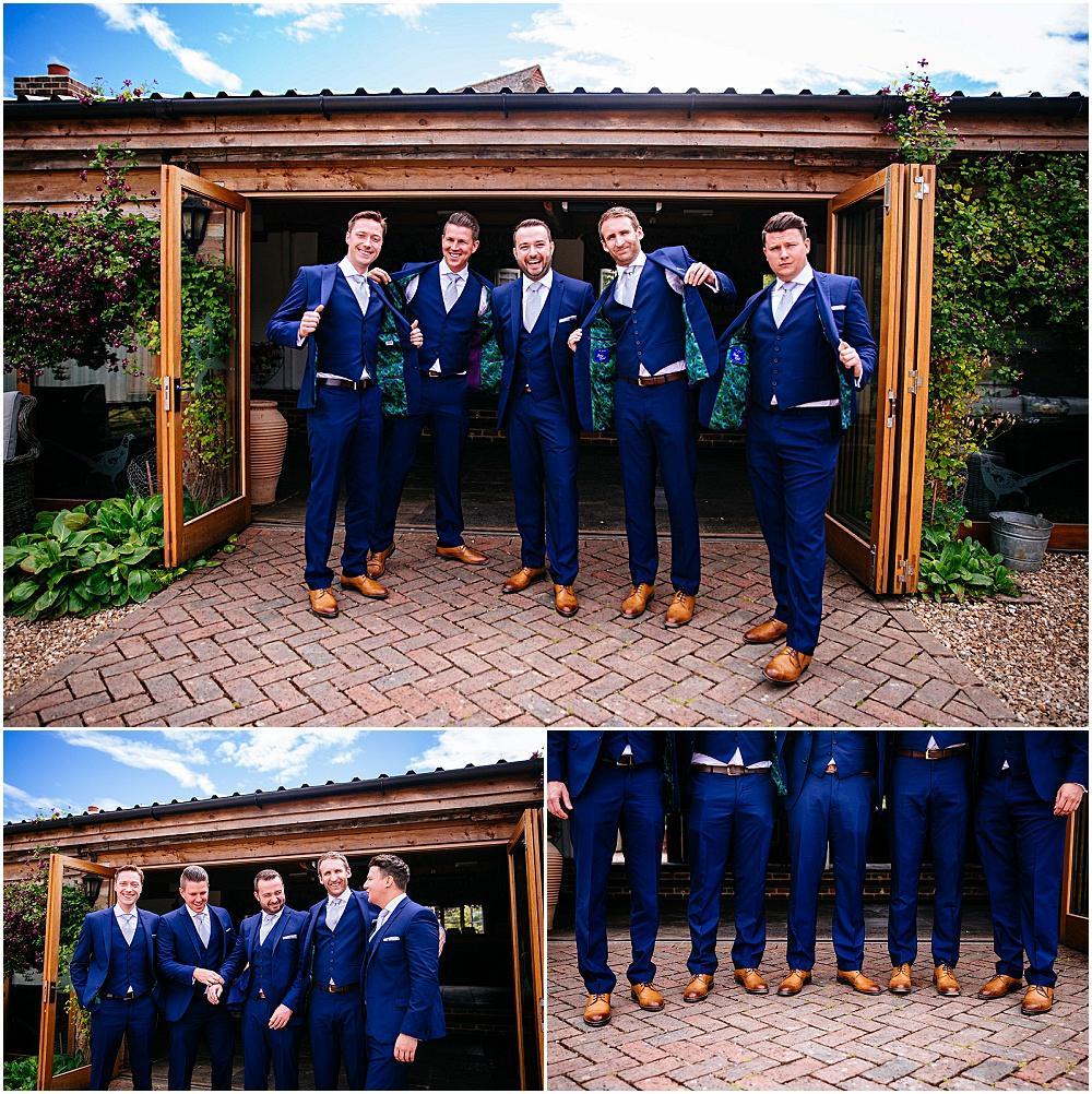Pre ceremony groom photographs