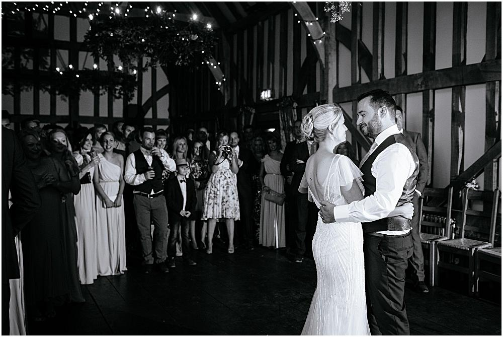 First dance at gate street barn