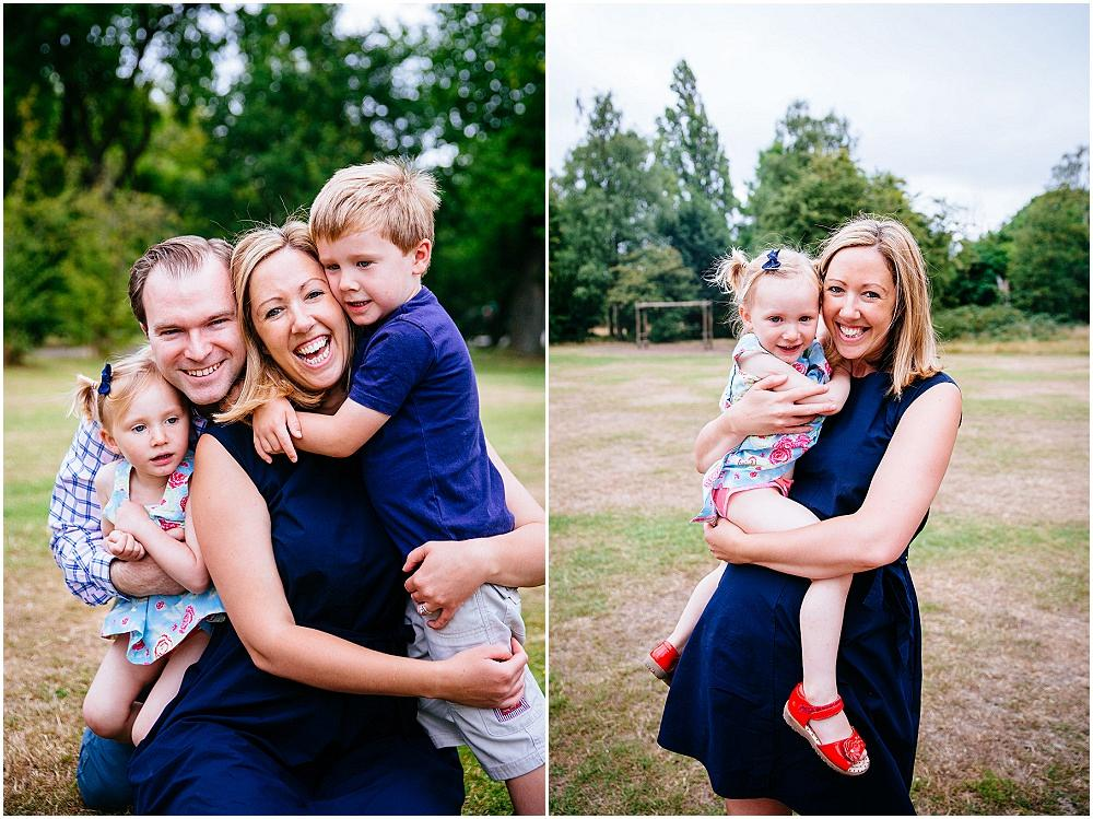 Big smiles from earlsfield family photography shoot