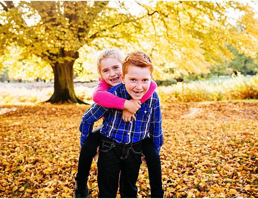 Richmond Park Photographer – the Fellows family