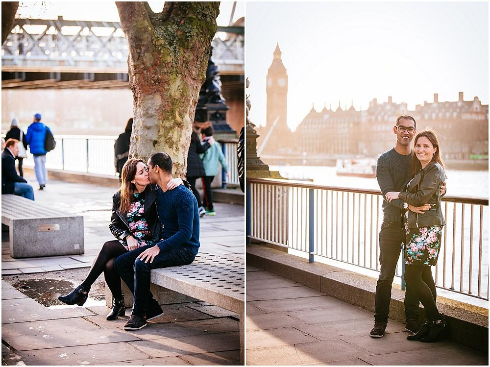 Sunny Christmas photography on southbank