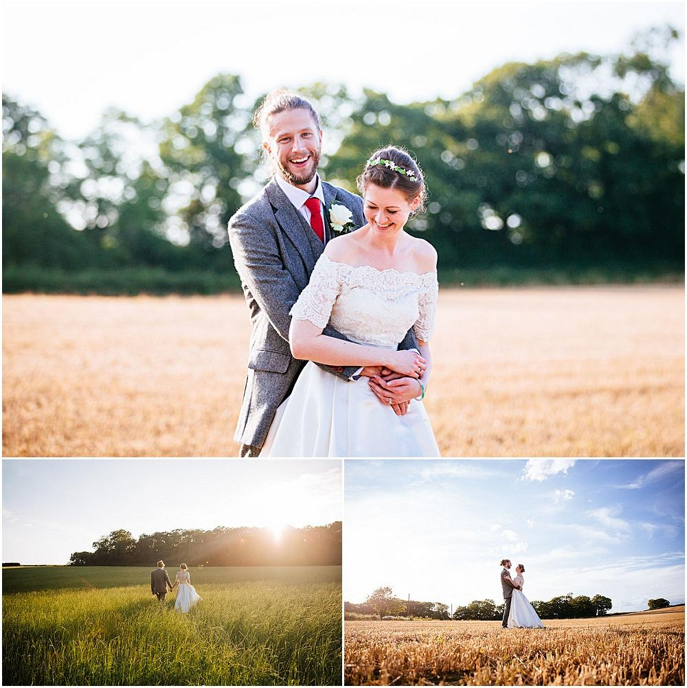 Bride and groom portraits at bartholomew barn