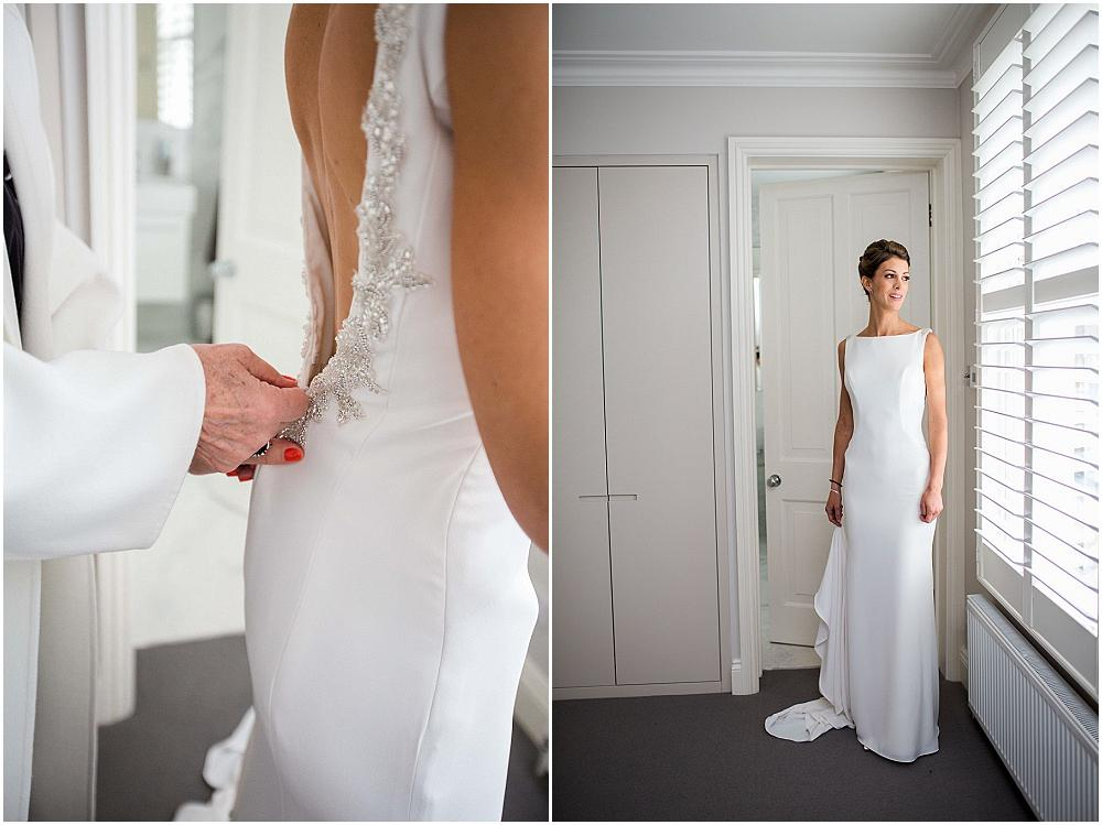 Gorgeous elegant london bride