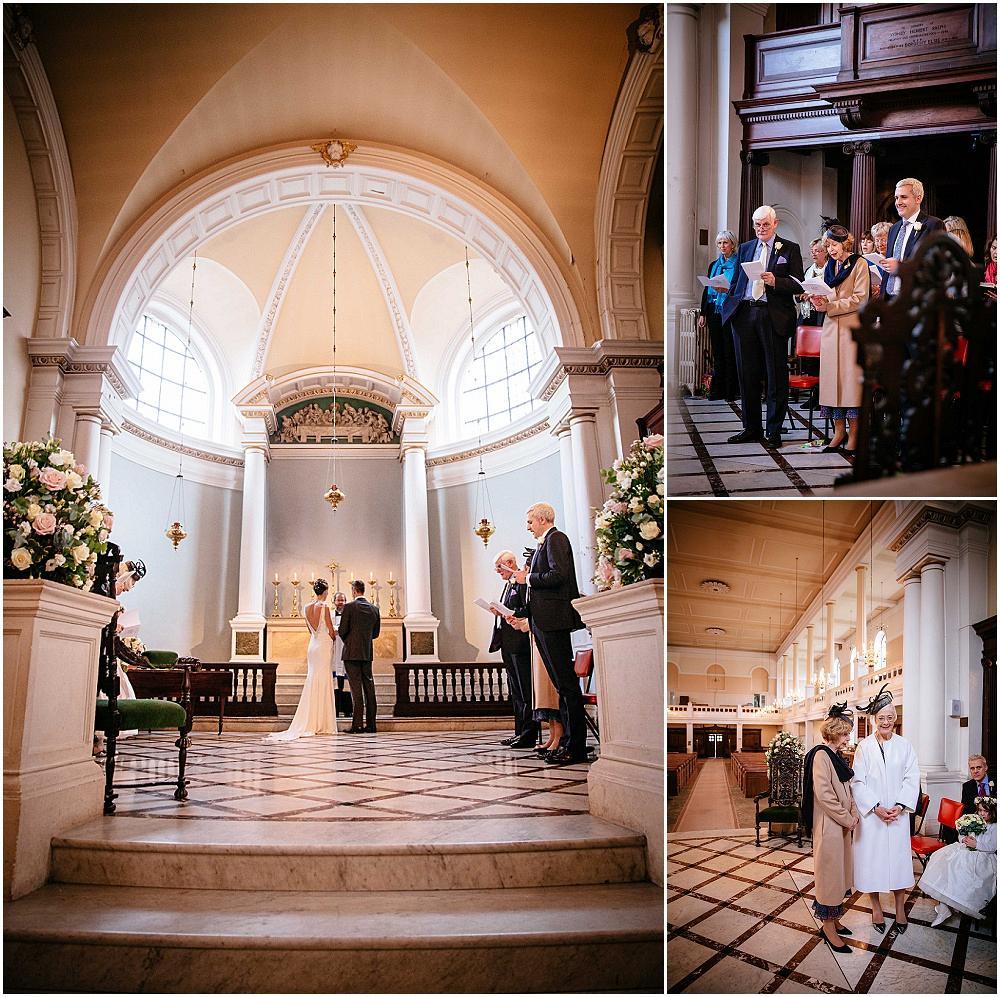 beautiful london church wedding