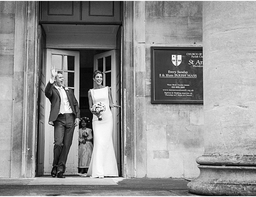 Wandsworth Wedding Photographer – Rebecca & Dan's perfect, intimate wedding