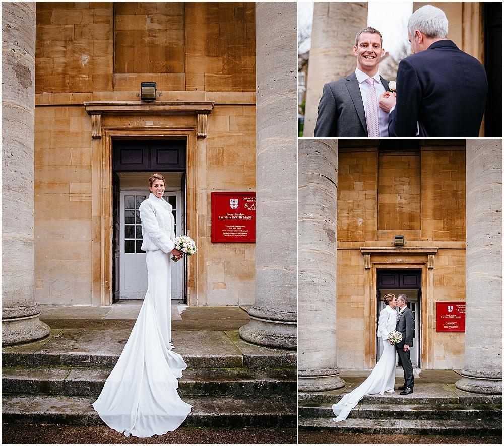 Stunning bride in pronovias gown