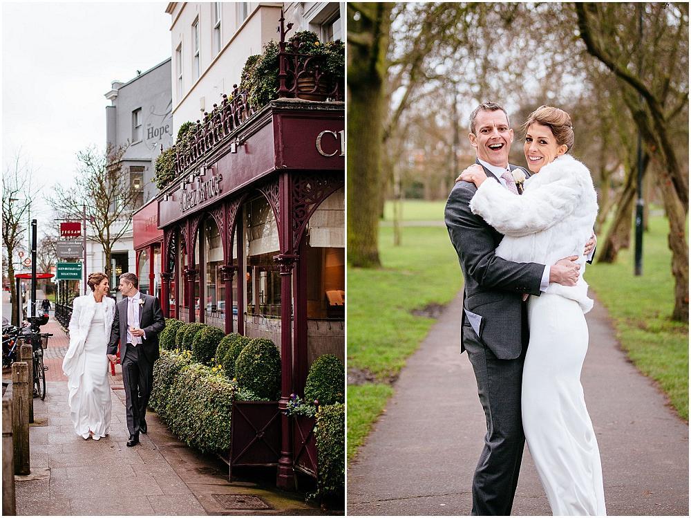 Wedding photography on wandsworth common