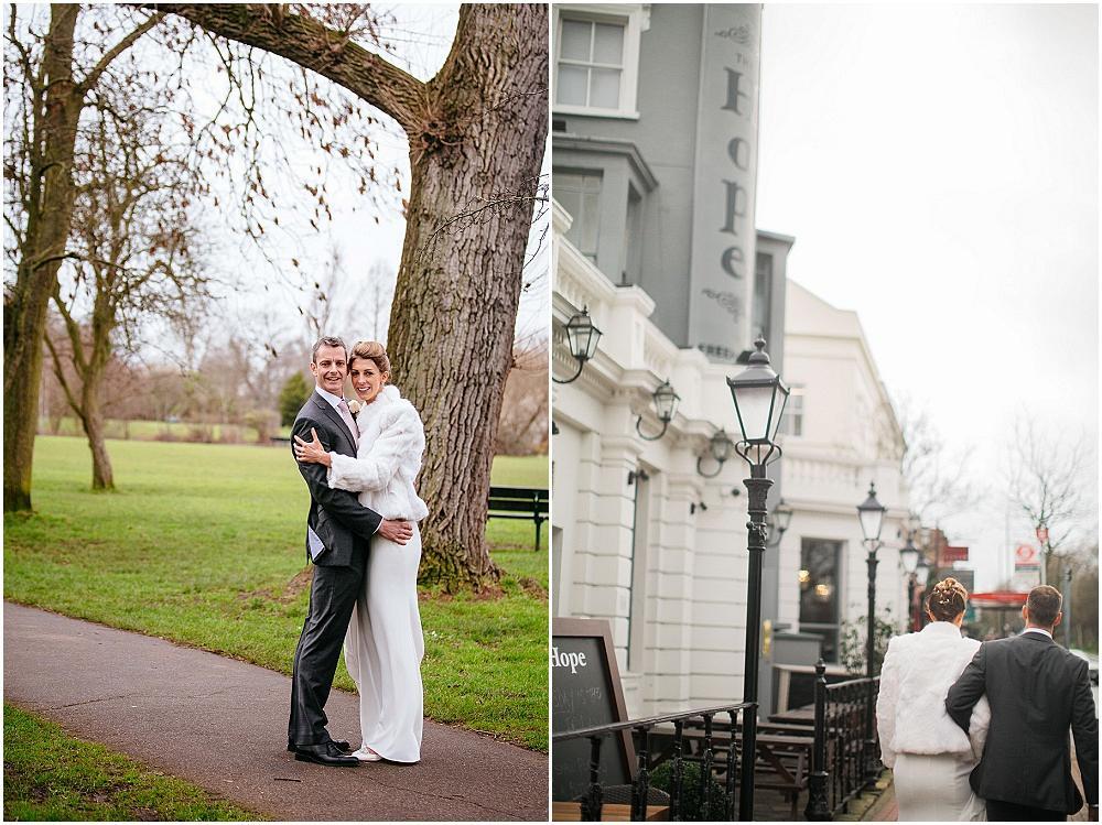 Wandsworth common wedding