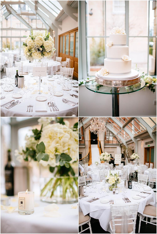 White details at surrey wedding