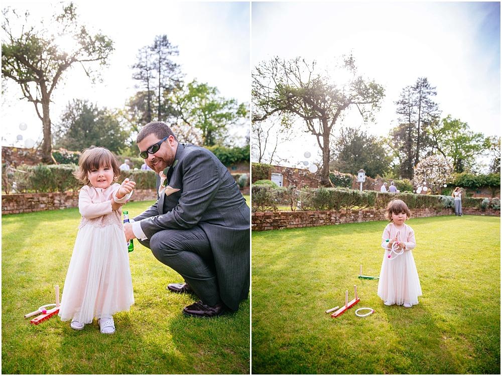 Granddaughter of groom