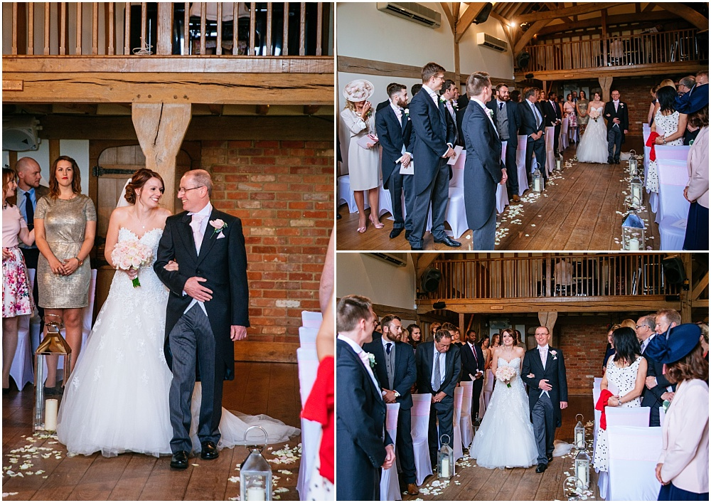 Walking down the aisle cain manor