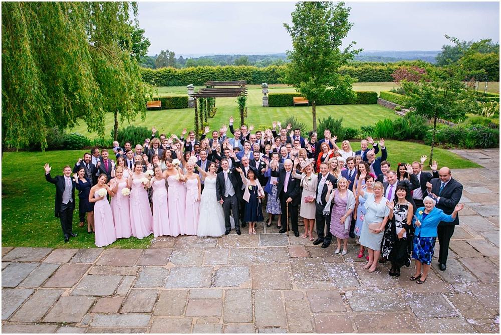 Cain manor group photograph of everyone