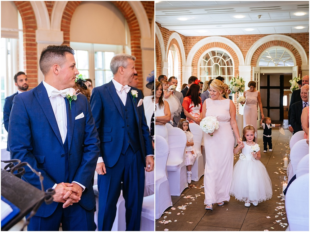 Walking down the aisle great fosters
