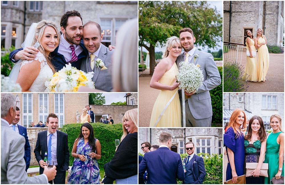 Relaxed fun wedding photographs