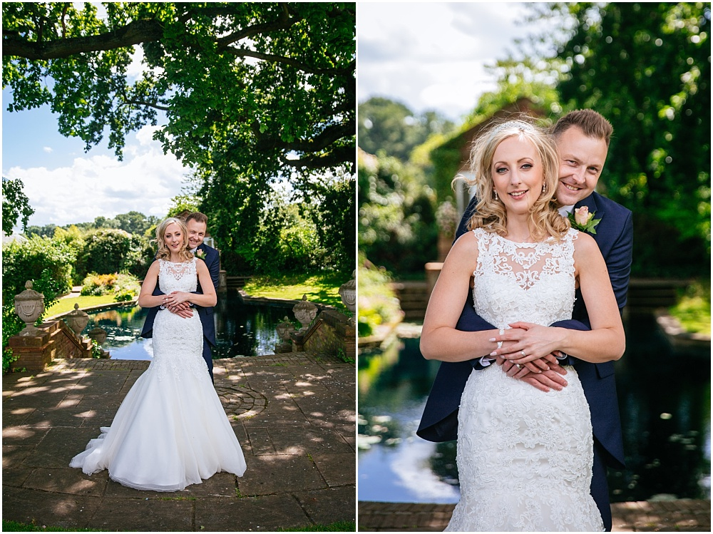 Micklefield hall wedding bride and groom photography