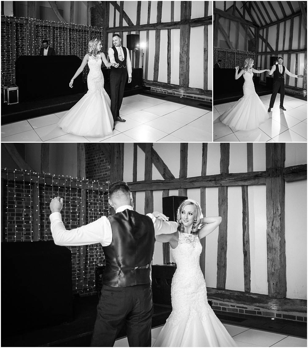 First dance at Micklefield Hall