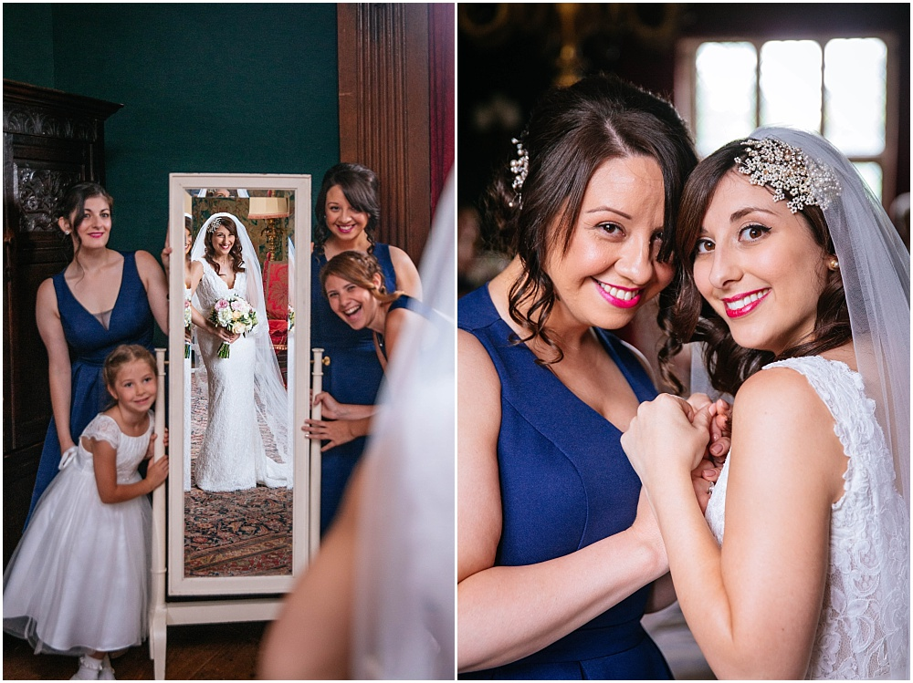 Creative bridesmaids photos
