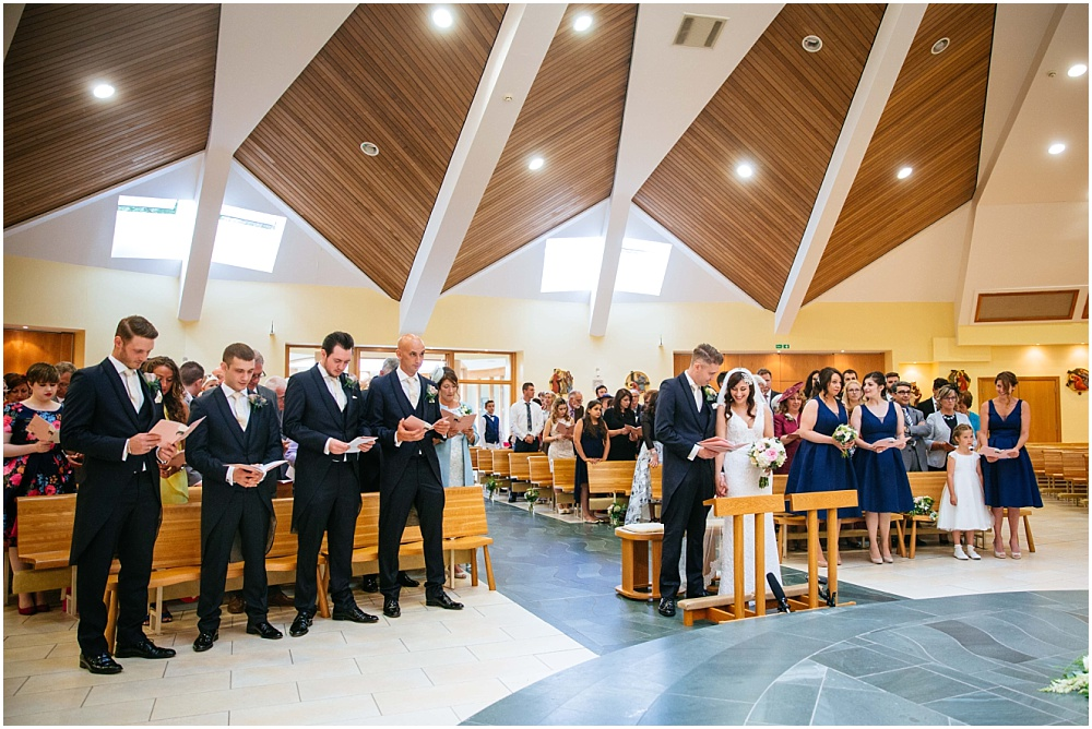 st dunstans church wedding ceremony
