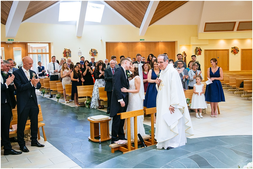 Surrey catholic church wedding