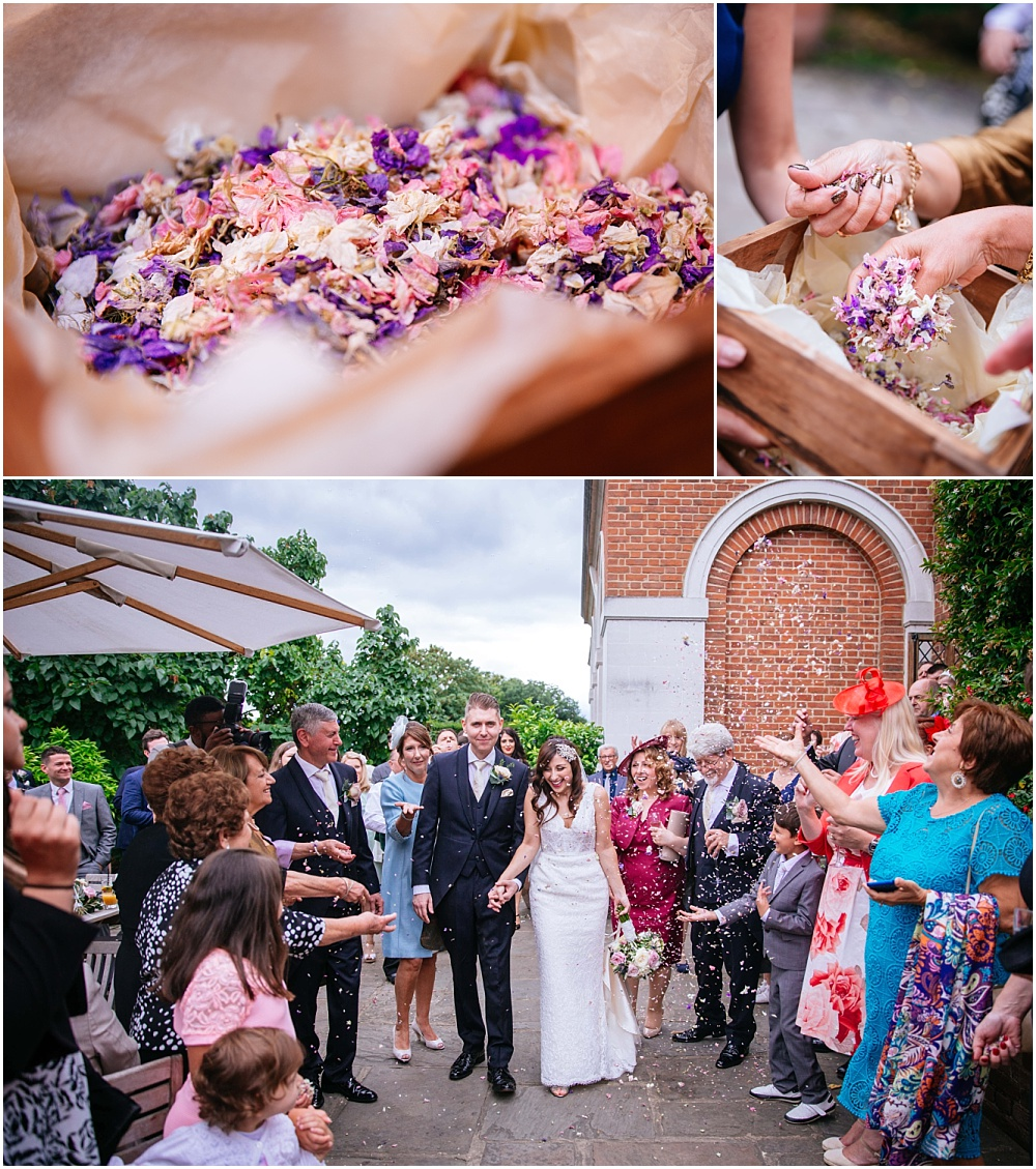 Confetti at great fosters