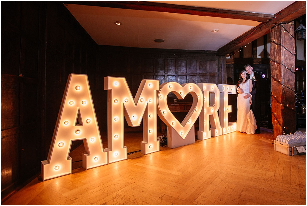 amore light up letters