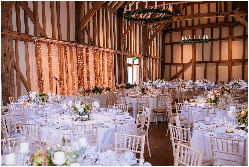 Micklefield hall wedding barn details