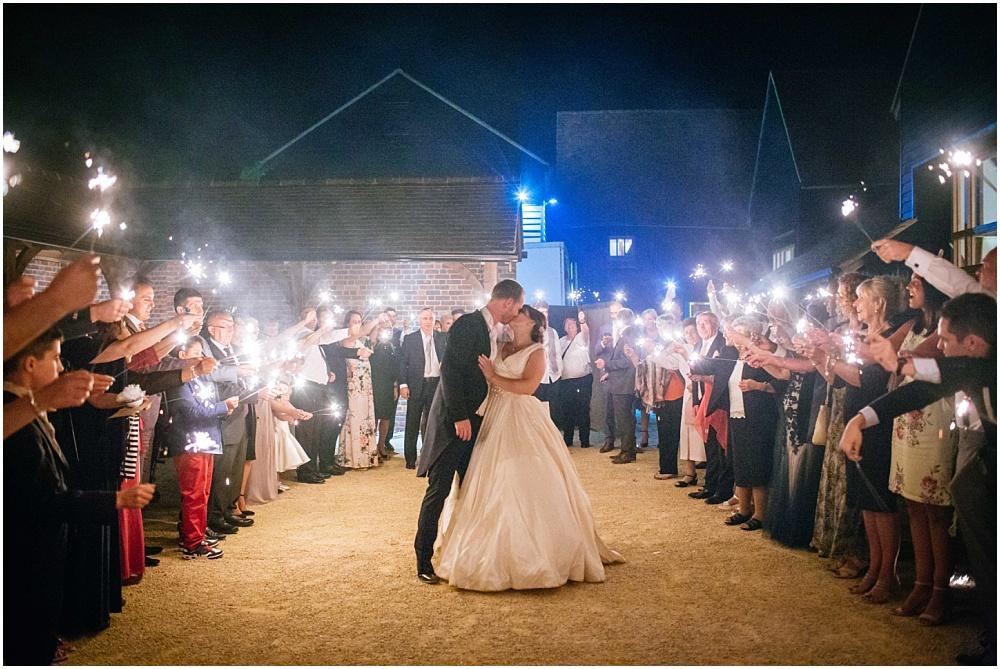 amazing sparkler exit photograph