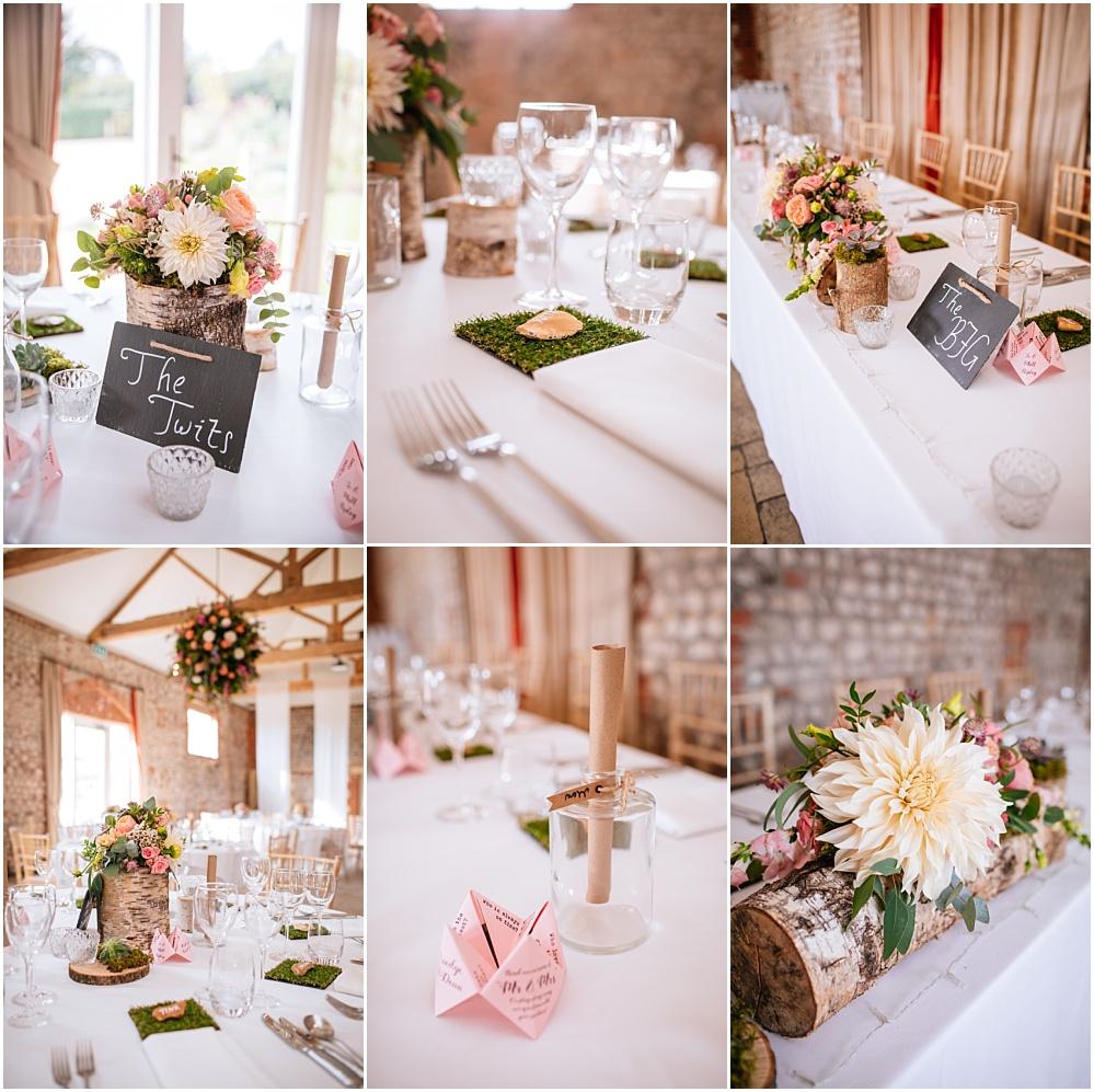 Farbridge wedding details Angel Like Flowers