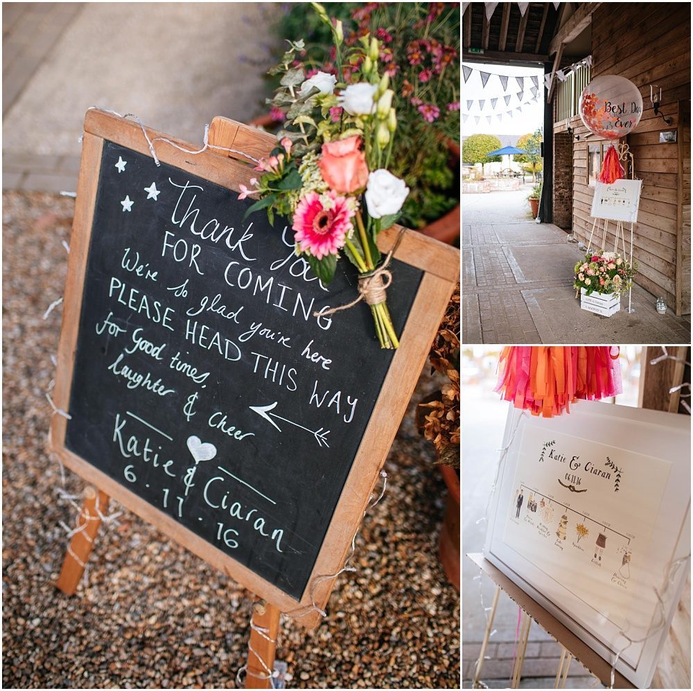 Wedding blackboard