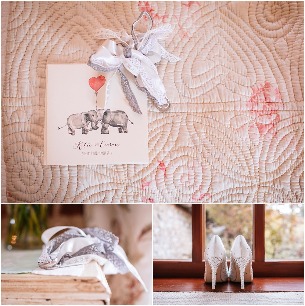 Elephant wedding invitation