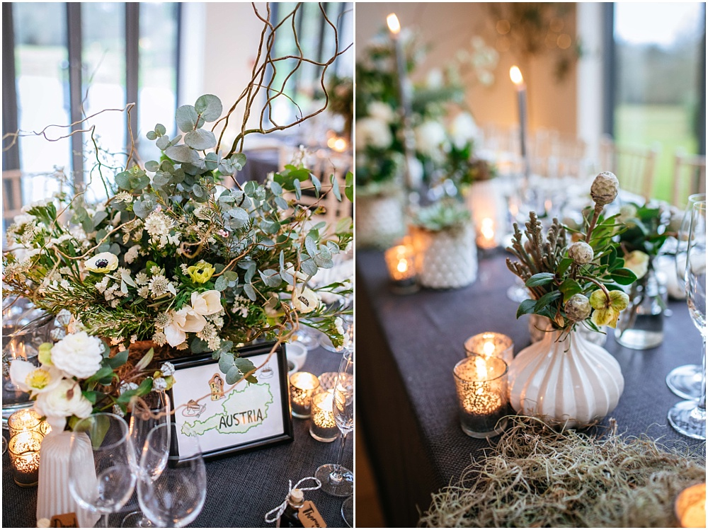 Jay archer flowers and kalm kitchen and millbridge court wedding inspiration