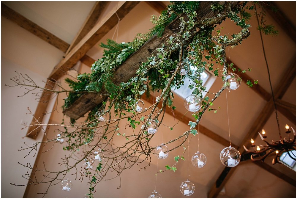 Jay archer hanging candle globes wedding inspiration