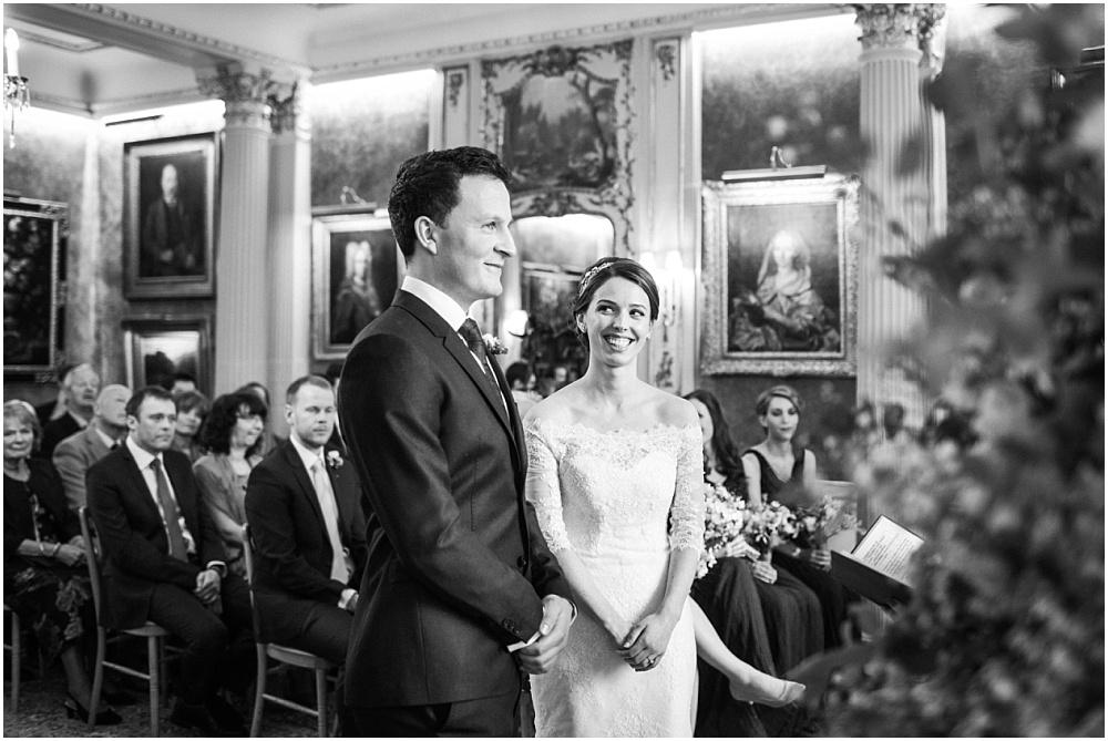 Savile club wedding ceremony