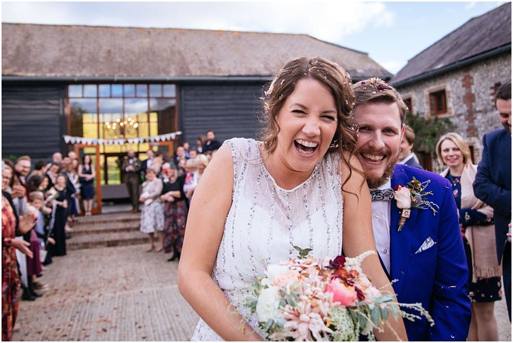 Upwaltham barn gorgeous couple