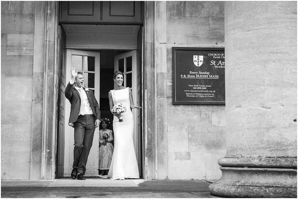 Wandsworth wedding at st anns church